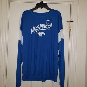 Nike SMU Mustangs Women's Long Sleeve Shirt